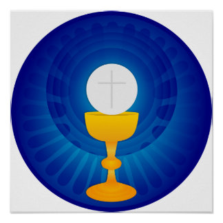 Holy Eucharist Poster