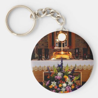 Holy Eucharist / The Blessed Sacrament Keychain