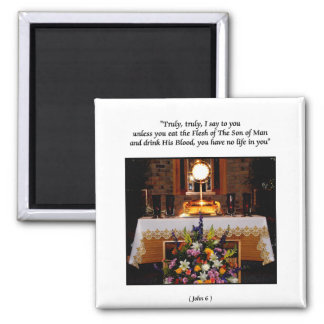 Holy Eucharist / The Blessed Sacrament Magnet