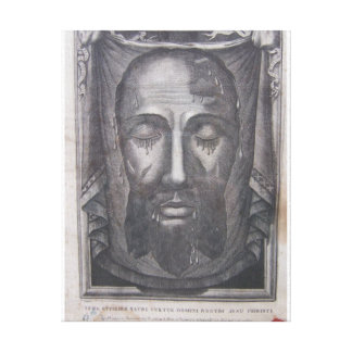 Holy face of Jesus Canvas Prints