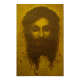 Holy Face of Jesus Christ / Veronica's Veil Poster