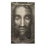 Holy Face of Jesus Devotion Card Business Card