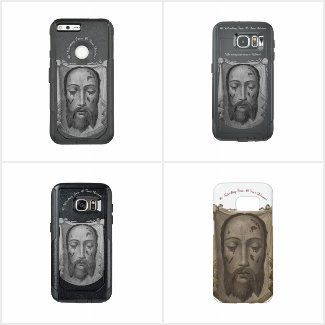 Holy Face of Jesus Phone Cases