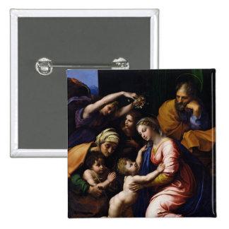 Holy Family , 1518 Pin