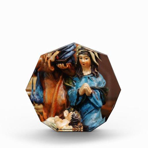 holy family acrylic award