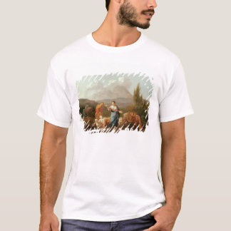 Holy family at a stream T-Shirt