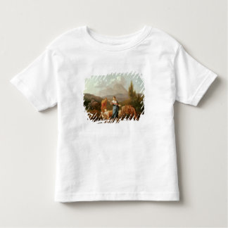 Holy family at a stream toddler t-shirt
