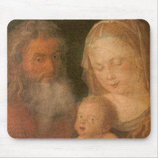 Holy Family by Albrecht Durer Mouse Pad