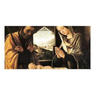 Holy Family By Costa Lorenzo Picture Card