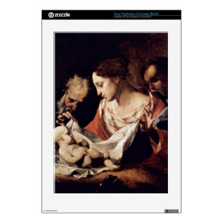 Holy Family by Giuseppe Antonio Petrini Decal For The PS3