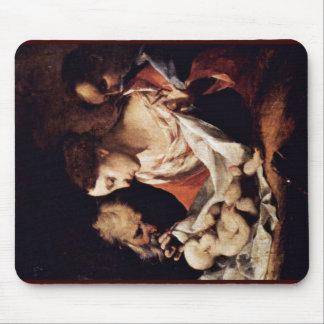 Holy Family By Petrini Giuseppe Antonio Mouse Pad