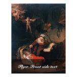 Holy Family By Rembrandt Harmensz. Van Rijn Personalized Flyer