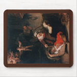 Holy Family By Rembrandt Harmensz. Van Rijn Mouse Pad