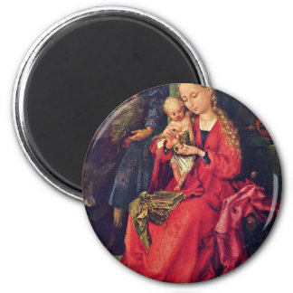 Holy Family By Schongauer Martin (Best Quality) Refrigerator Magnets