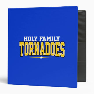 Holy Family Catholic High School Tornadoes Vinyl Binders