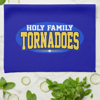 Holy Family Catholic High School Tornadoes Hand Towels