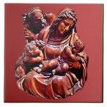 Holy Family Ceramic Tile