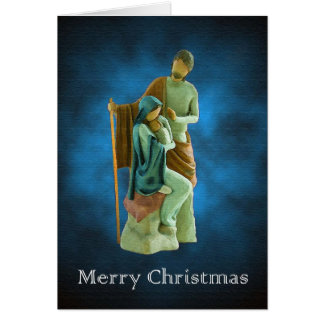 Holy Family Christmas Greeting Card