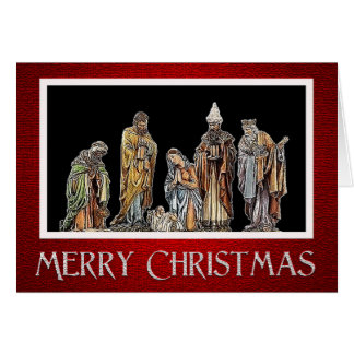 Holy Family Christmas Greeting Card