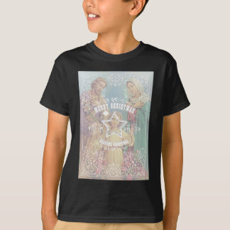 Holy Family Christmas Vintage Maria T-Shirt