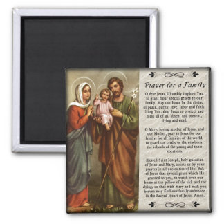 Holy Family Custom Fridge Magnet