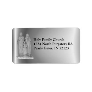 Holy Family label