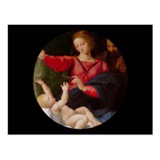 Holy Family Madonna of Loreto Postcard