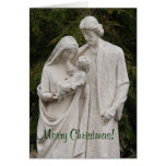 Holy Family. Merry Christmas! Greeting Cards