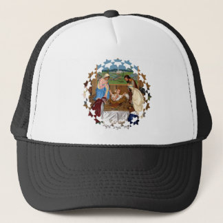 Holy Family: Nativity Scene Trucker Hat