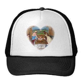 Holy Family: Nativity Scene Trucker Hat