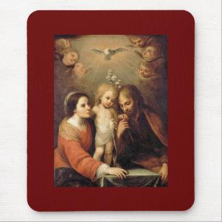 Holy Family - Sacrada Familia Mouse Pads