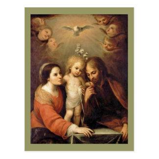 Holy Family - Sacrada Familia Postcard
