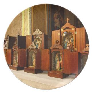 Holy Family shrines Dinner Plate