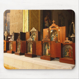 Holy Family shrines Mouse Pad
