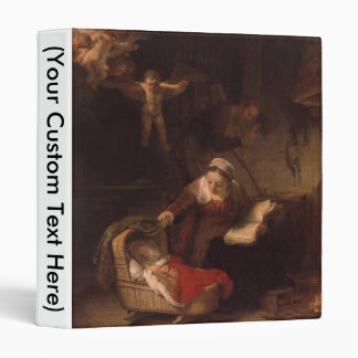Holy Family with Angels Binder