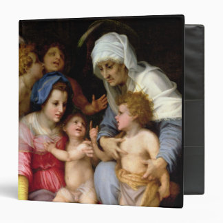 Holy Family with Angels, c.1515-16 (oil on panel) Binder