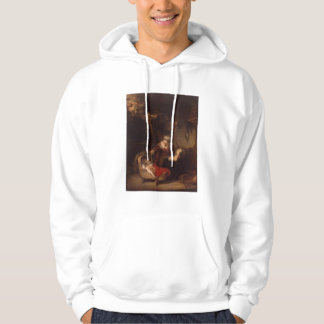 Holy Family with Angels Hoodie