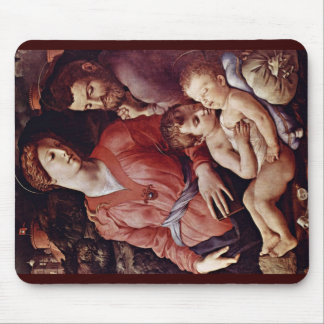 Holy Family With John The Baptist Mouse Pad