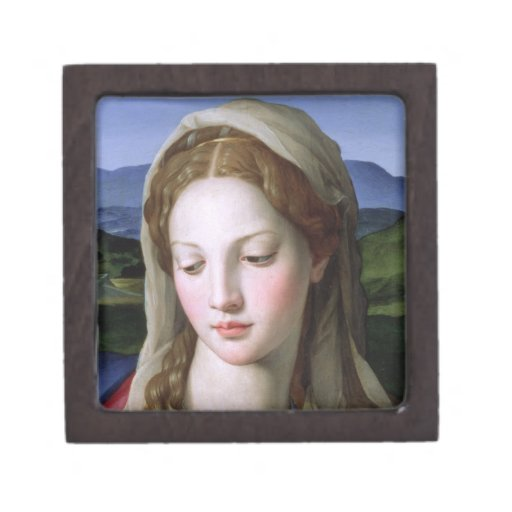 Holy Family with St. Anne and the infant St. John Premium Keepsake Box