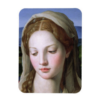 Holy Family with St. Anne and the infant St. John Rectangular Photo Magnet