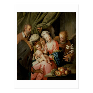 Holy Family with St. Anne Postcard
