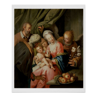 Holy Family with St. Anne Poster
