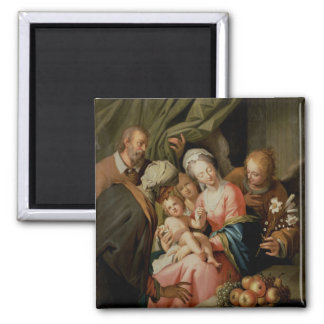 Holy Family with St. Anne Refrigerator Magnet