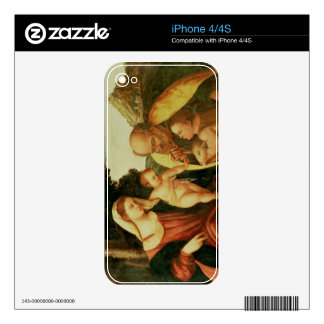 Holy Family with St. John Decals For iPhone 4S