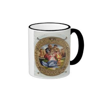 Holy Family with St. John (Doni Tondo), 1504-05 (o Ringer Coffee Mug