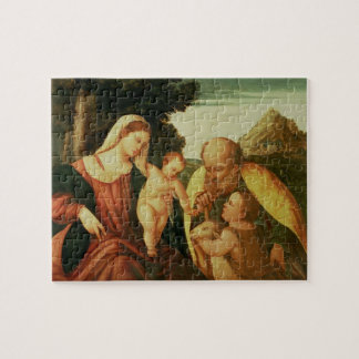 Holy Family with St. John Jigsaw Puzzle