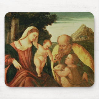 Holy Family with St. John Mousepad
