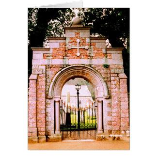 HOLY GATE CARD