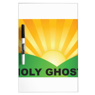 holy ghost field dry erase board