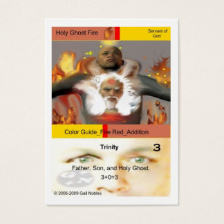 Holy Ghost Fire Business Card